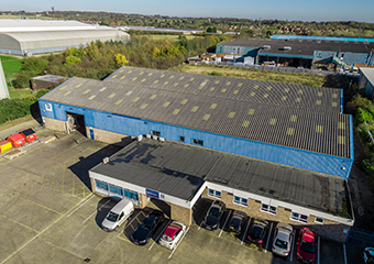 Blackburns, Bedford Aerial Images - Pacific Industries-M1 Agency - by DroneScope 02.jpg